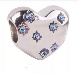 NEW S925 Cinderella Heart Dream Charm